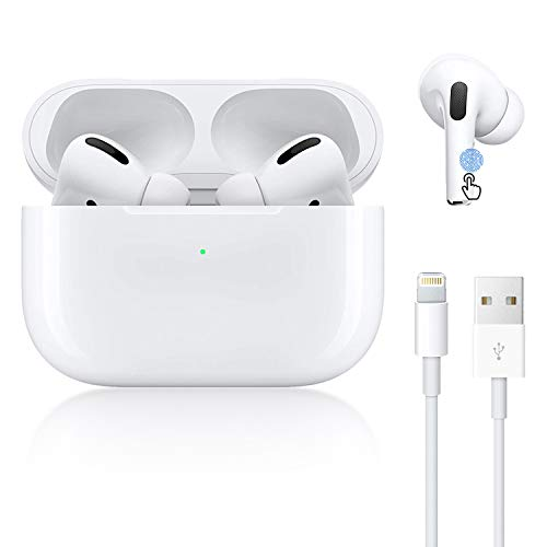 Wireless Earbuds Bluetooth 5.0 Headphones Fast Charging 3D Stereo Earbuds in Ear Earbuds with Built in Mic Noise Reduction Function, Suitable for Apple Airpods pro iPhone/Android/Samsung Earbuds