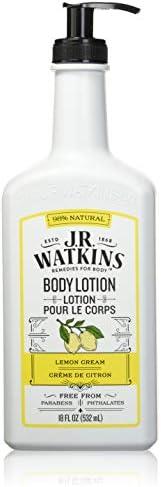 J R Watkins Daily Moisturizing Lotion Lemon Cream 18 Ounces product image