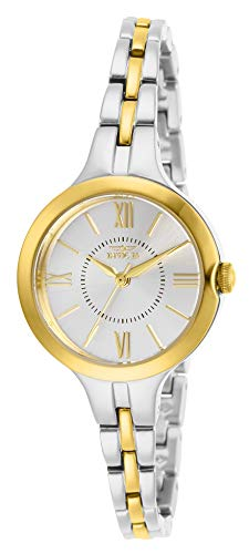 Invicta Women's Angel Quartz Watch with Stainless Steel Strap, Two Tone, 8 (Model: 29344)