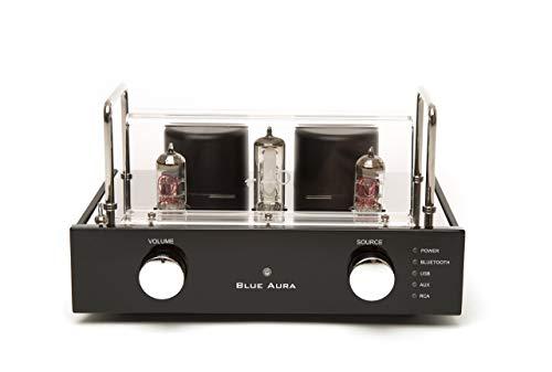 Blue Aura V40 Black, Amplificatore Valvolare Ibrido, 25 x 20 x 15 cm, 1, Nero