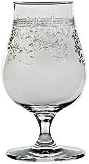 CRISTALICA Whiskyglas Malt Tasting Likörkelch Aperitif Panto 90ml Kristallglas Floral