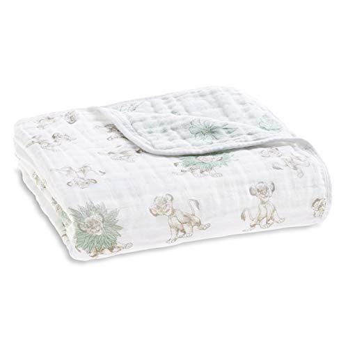 aden + anais Disney Dream Blanket   Boutique Muslin Baby Blankets for Girls & Boys   Ideal Newborn Nursery & Crib Bedding   Plush Toddler & Infant Blankets   Shower & Registry Gift Items  Lion King