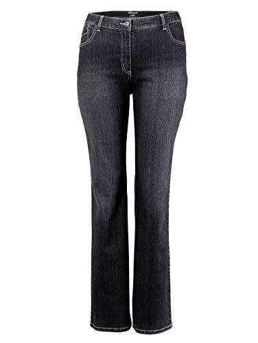 Dollywood Straight Cut Jeans Stella Schwarz