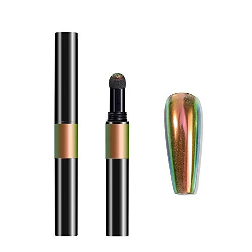 Nailart Puder - Pigment Pen - Chrome - Flip Flop - 1010-HY01