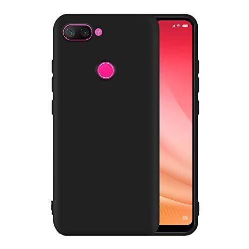 Capa Xiaomi Mi 8 Lite Silicone Antichoque WB - Preta