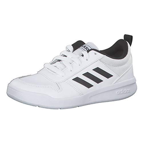 adidas Tensaur K, Unisex Trail Running Shoes, White (Ftw Bla/Negbás/Ftw Bla 000), 10k UK (28 EU)