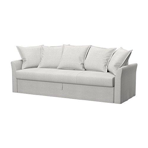 Soferia - Ikea HOLMSUND Fodera per Divano Letto a 3 posti, Glam Beige