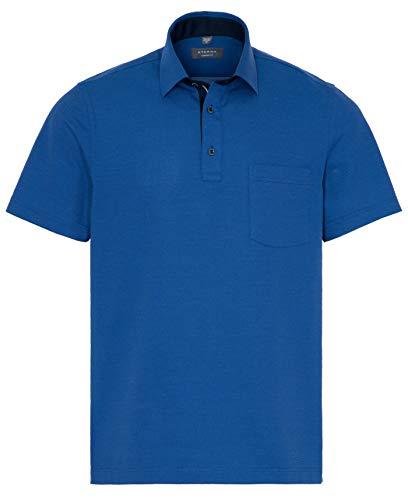 eterna Herren Polo Shirt Kurzarm Comfort Fit Piqué 2203/15/U54K Blau XXL/46