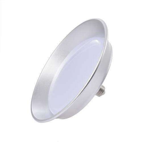 Viugreum 100W UFO Iluminación LED Alta, UFO Iluminación led alta 10000Lm, Lámpara Industrial Ultra Delgada 6500k, Super Brillante Iluminación Comercial para Almacén, Fábrica(Blanco Frío)