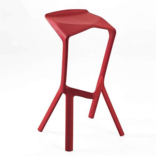Miura Barhocker, Barhocker mit Gegenhöhe aus Kunststoff, PP, Fußhocker mit Fester Höhe, Sitz for Haushaltsrestaurants, Modern Home Decorative Foldable Creative High