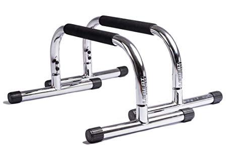 Lebert Fitness Parallettes, Frank Medrano Signature, Chrome
