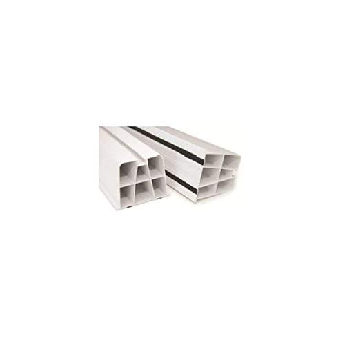 Fischer 524498 Mensole per condizionatori, Bianco, Lunghezza 350 mm