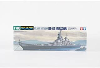 Tamiya America, Inc 1/700 U.S.Navy Battleship Missouri, TAM31613