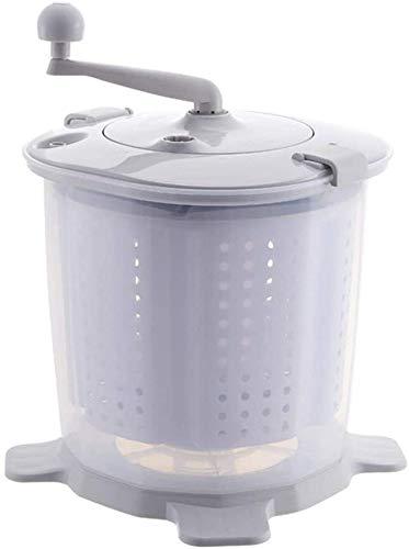 Tragbare ökologische Mini-Waschmaschine, handbetriebene manuelle Wäsche, nicht elektrische Waschmaschine und Trockner, einfach zu bedienen, geeignet für Wohnmobile, Camping/Abschnitt a