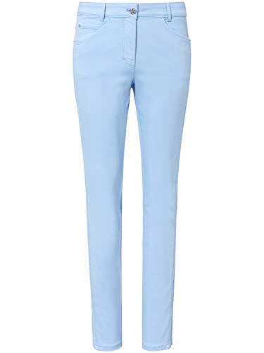 BASLER Damen Jeans mit seitlicher Paspel und Stickerei