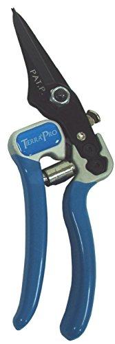 Tierra Garden 38–1712 Pro Tondeuse avec poignée en Aluminium et PVC forgé Grips, 7–1/5,1 cm