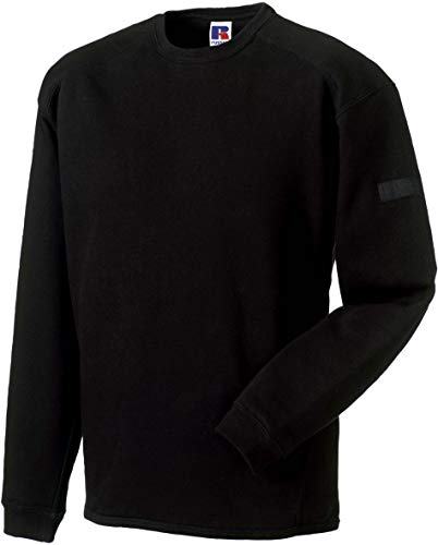Russell Europe: Workwear Set-In Sweatshirt R-013M-0, Größe:M;Farbe:Black