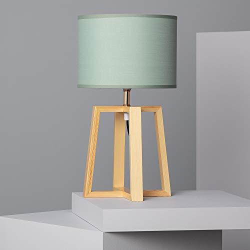 LEDKIA LIGHTING Lámpara de Mesa Korsade Verde