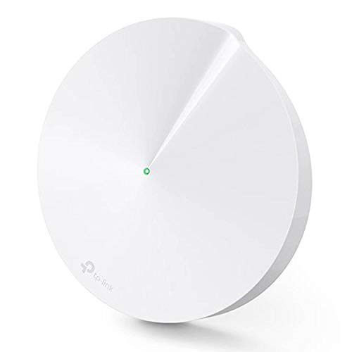 TP-Link Deco Whole Home Mesh WiFi System - Homecare Support, Seamless Roaming, Dynamic Backhaul, Adaptive Routing, Works with Amazon Alexa (Deco M5 1 Pack)
