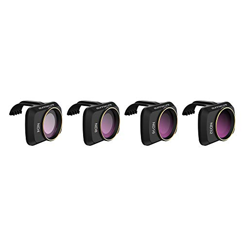 Hensych Filtro de Lente de cámara para Mavic Mini/Mavic Mini 2/ Mini SE Drone MCUV CPL ND NDPL Filtro de Alta transmitancia Marco de Modelado Integrado (ND4+ND8+ND16+ND32)