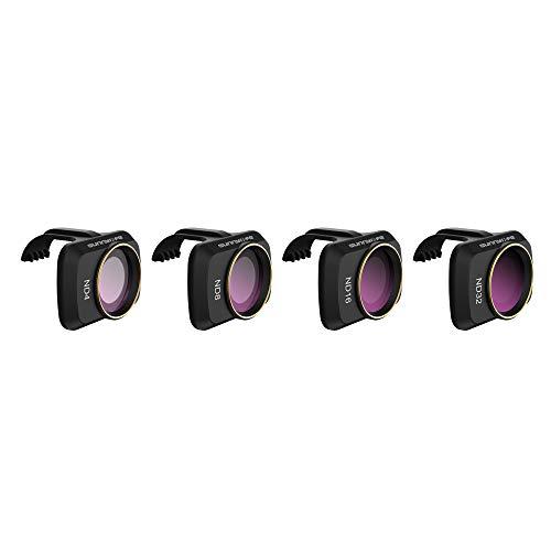 Hensych Filtro de Lente de cámara para Mavic Mini/Mavic Mini 2 Drone MCUV CPL ND NDPL Filtro de Alta transmitancia Marco de Modelado Integrado (ND4+ND8+ND16+ND32)