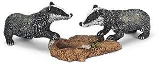 Schleich Badger Cub Toy Figure