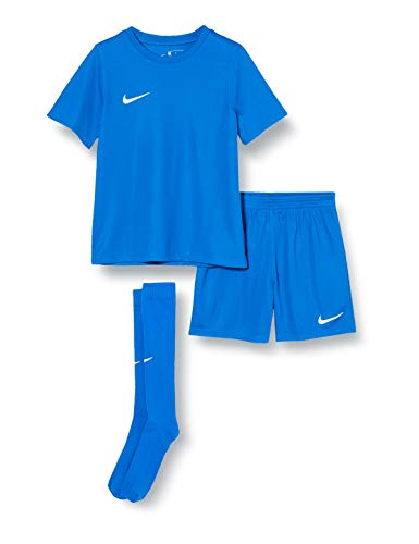 Nike LK NK DRY PARK20 KIT SET K Set Da Calcio, Unisex bambini, royal blue/royal blue/(white), XL