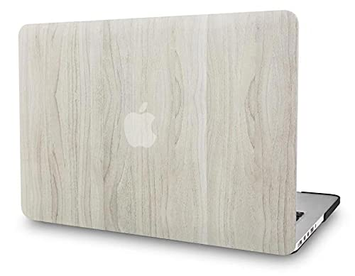 KECC Laptop Case Compatible with MacBook Air 13' Retina (2021/2020/2019/2018, Touch ID) Plastic Case Hard Shell Cover A2337 M1 A2179 A1932 (Pine Wood 2)
