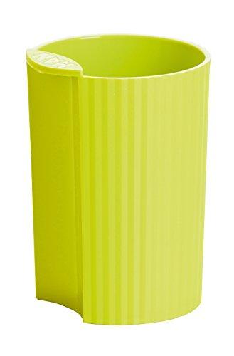 HAN Stifteköcher HAN LOOP 17220-50 in Trend Colour Lemon / Modernes Schreibtisch Zubehör für Stifte / Stylischer und kombinierbarer Stiftebehälter