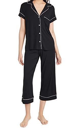 Eberjey Gisele Short Sleeve and Cropped Pant PJ Set