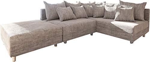 Eckcouch Clovis modular Ecksofa Modulsofa Design Sofa