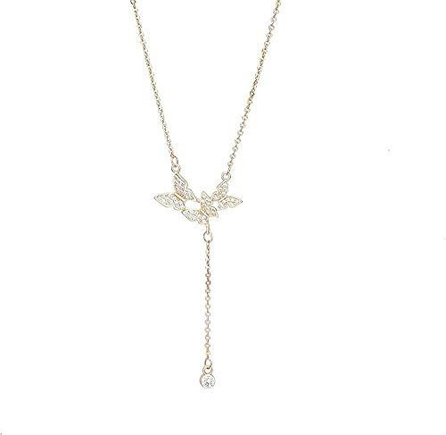 LBBYLFFF Collar de Moda Collar de pompón Charm Gifts Collar