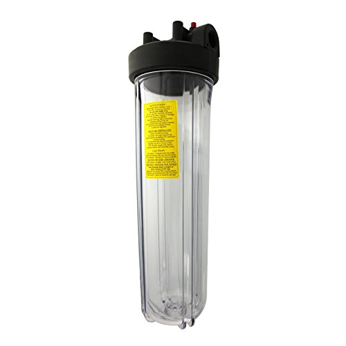 Watts #20 Big Clear Whole House Water Filter Housing
