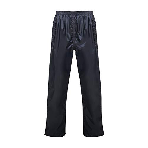 Regatta Pantalon Professionnel pour Homme imperméable et Respirant Coupe-Vent S Bleu Marine