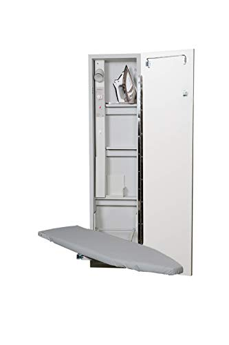 Iron-A-Way Built-In Ironing Center with 46 Inch Swiveling...