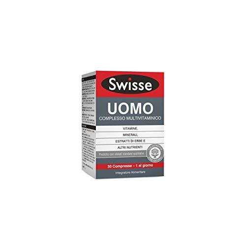 Swisse Uomo Multivitaminico, Integratore Alimentare Multi-nutriente per Integrare l'Alimentazione degli Uomini, 30 Compresse