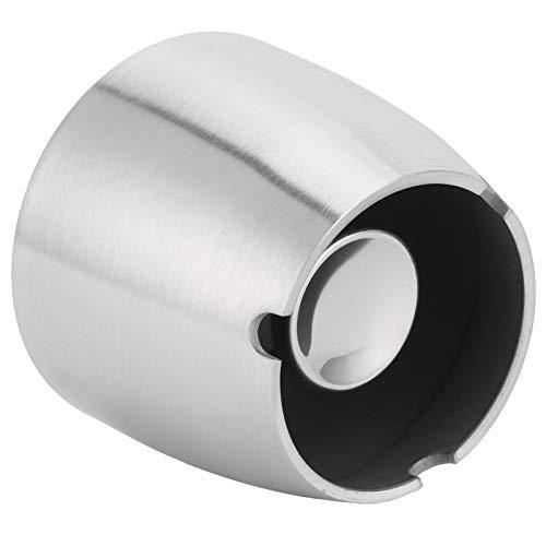 Ceniceros para el hogar, cenicero duradero para exteriores, cenicero de acero inoxidable, cenicero de pie para interiores para exteriores para el hogar(Small cone ashtray)