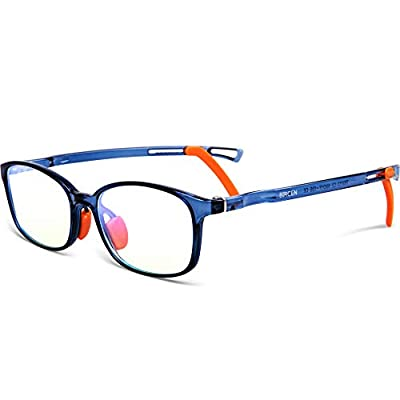 Bircen Kids Blue Light Glasses BoysGirls, 0.48 ...