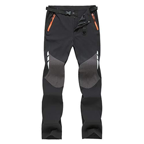 Men Women Outdoor Trousers - Quick-Drying Waterproof Hiking Ski Climbing Tactical Long Pants Loose Casual Sweatpants