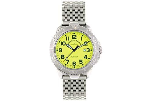 Zeno-Watch – Orologio da polso – Hercules 1 Automatic Yellow MB – 4554-a9M