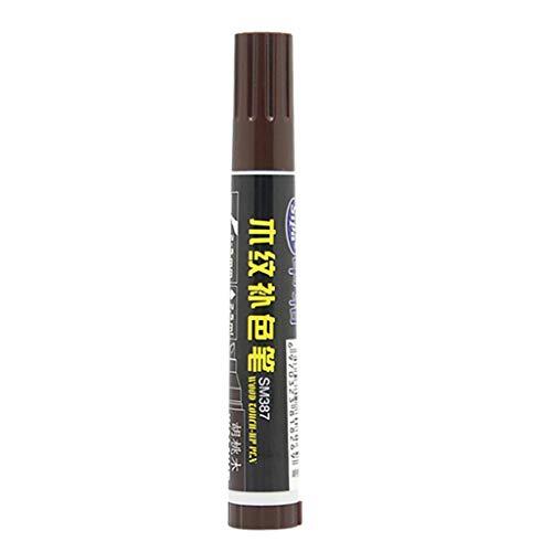 Bfmyxgs Holzmaserung Farbe Stift Möbel Ausbesserungsstift Nussbaum Mahagoni Boden Tisch Kratzreparatur Artefakt Marker machen Kratzer verschwinden
