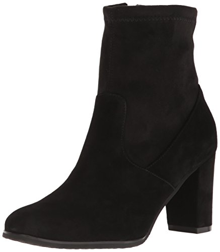 Blondo Women's Kelly Ankle Boot, black suede, 9.5 M US