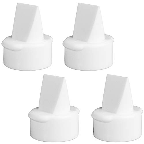Nenesupply 4 pc Duckbill Valves Compatible with Lansinoh Breast Pumps Replace Lansinoh Valves. Replace Lansinoh Pump Parts. Use with Signature Pro Smartpump
