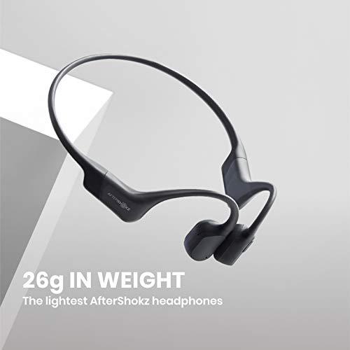 AfterShokzAeropex骨伝導ワイヤレスヘッドホン防水bluetooth5.0コズミックブラック