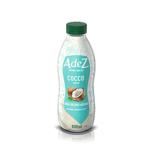 Adez Bevanda Vegetale al Cocco - Bottiglia PET Riciclabile, 800 ml