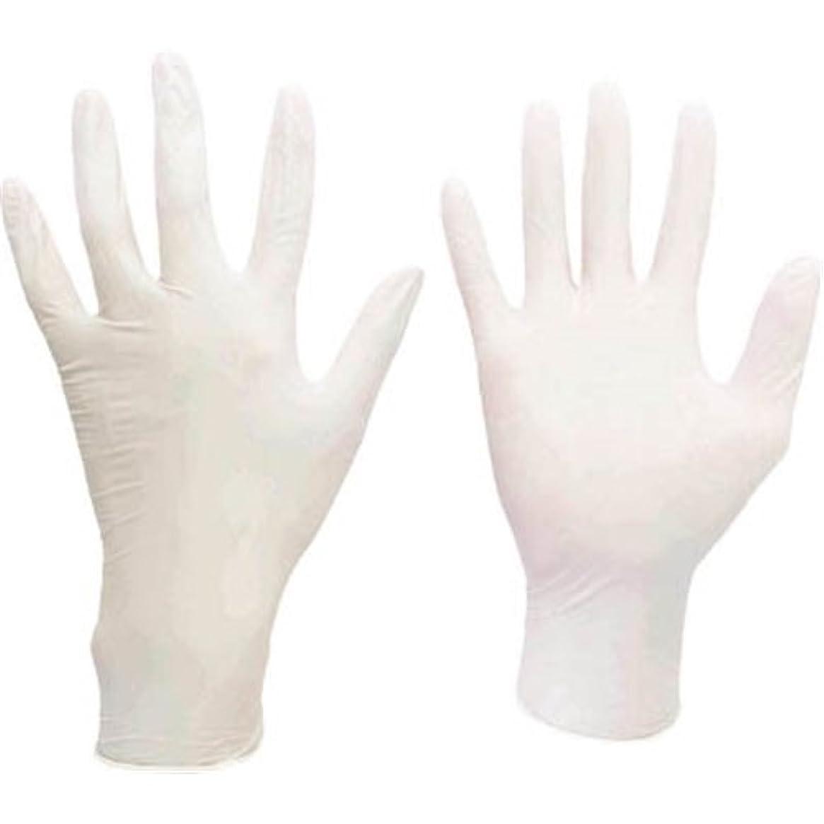 三角形気づくなる上級ミドリ安全/ミドリ安全 ニトリル使い捨て手袋 極薄 粉なし 100枚入 白 LL(3889076) VERTE-711-LL