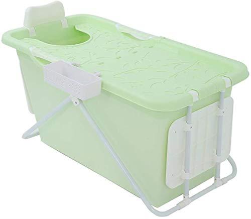 QZz Home® Bañera de baño compartida general bañera de cadera plegable barril de baño medio cuerpo plástico Yu barril todo el cuerpo (color: verde)