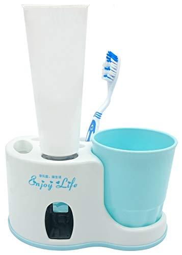 Legenden Dispensadore de pasta de dientes - con vaso y porta cepillo de dientes