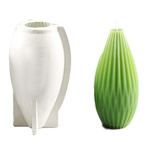 Terynbat 3D Silikonform, Ball Seifenform Craft Art Seife Form Craft DIY Silikon Kerze Formen