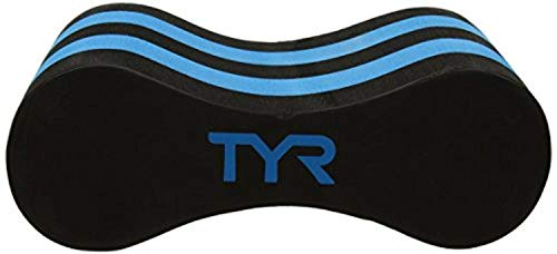 Fantastic Deal! Swim Bundle: TYR Pull Float Black/Blue All & Swimming Earplugs